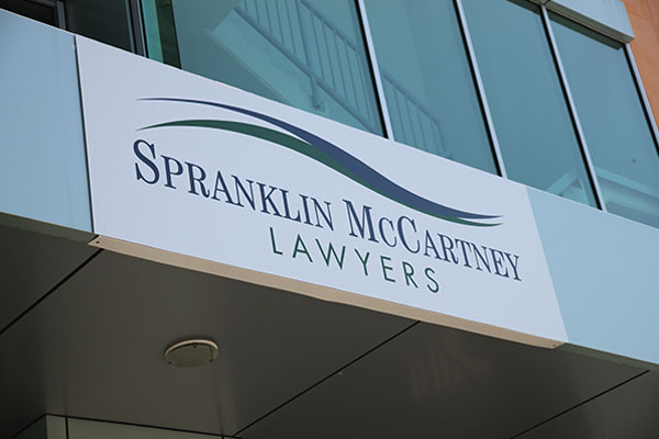 Spranklin McCartney Lawyers Office